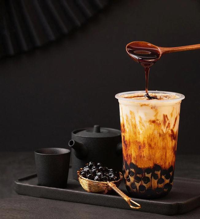 黑糖厚切珍珠奶茶。(御茶提供)