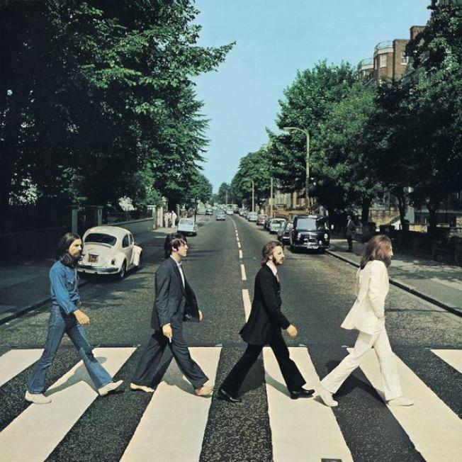 披頭四專輯「艾比路」在50周年之際重登英國排行榜榜首。(取自臉書)