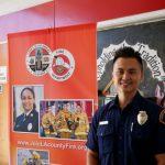 華男放棄高薪 立志當消防員