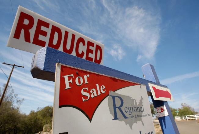 矽谷上市房屋降價出售比例的增幅全美最大。(Getty Images)