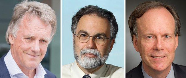諾貝爾醫學獎得主揭曉,美國哈佛醫學院教授凱林(William G. Kaelin Jr)、英國醫學家拉特克里夫(Sir Peter J. Ratcliffe)與美國醫學家塞門薩(Gregg L. Semenza)共三人,因「發現細胞如何感覺到氧氣供應量並調整適應」而獲獎。歐新社