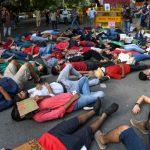 氣候行動全球遍地開花 示威者癱瘓道路多人被捕