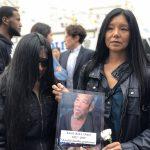 華埠遊民午夜爆頭案悼念儀式 遇難華裔耆老熟人痛哭