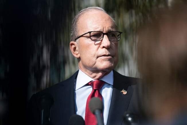 白宮經濟顧問庫德洛。(Getty Images)