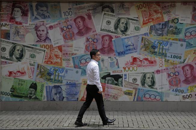 美國以及歐洲和亞洲最大的經濟體明顯放緩。(美聯社)