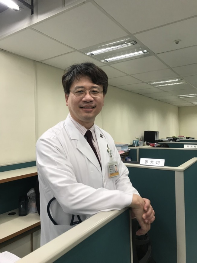 長庚紀念醫院內科部一般內科暨高齡醫學科主任陳英仁。圖/陳英仁提供