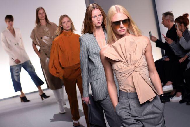 時裝品牌紀梵希(Givenchy)在巴黎時裝秀。(Getty Images)