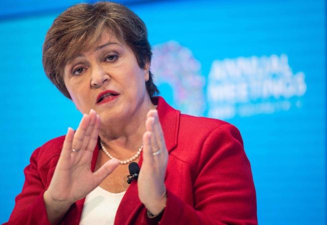 國際貨幣基金(IMF)新總裁喬治艾娃(Kristalina Georgieva)。(Getty Images)