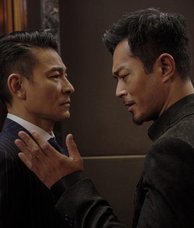 香港送選劉德華和古天樂主演的「掃毒2」。(本報資料圖片)