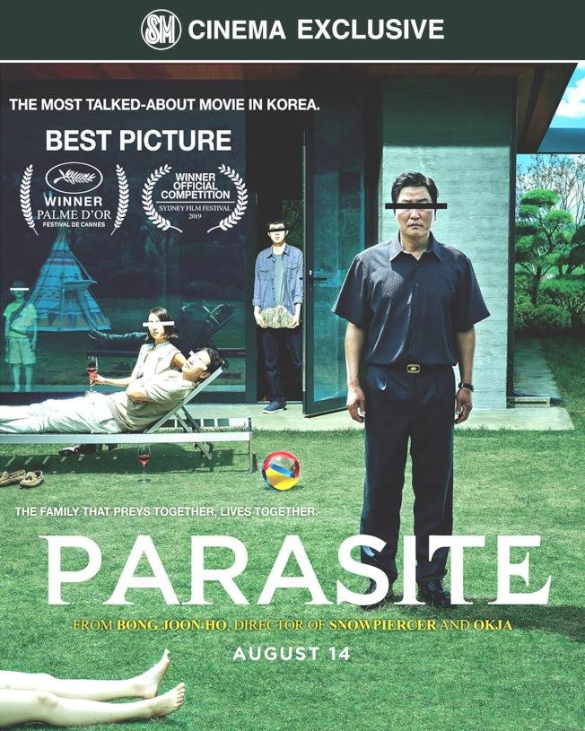 獲得金棕櫚獎的韓國電影「寄生蟲」,是今年奧斯卡「最佳國際電影獎」大熱門。(NEON公司圖片)