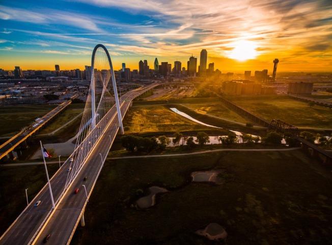 達拉斯-福和市地區周末溫度將急遽下降。(Dallas市府臉書)