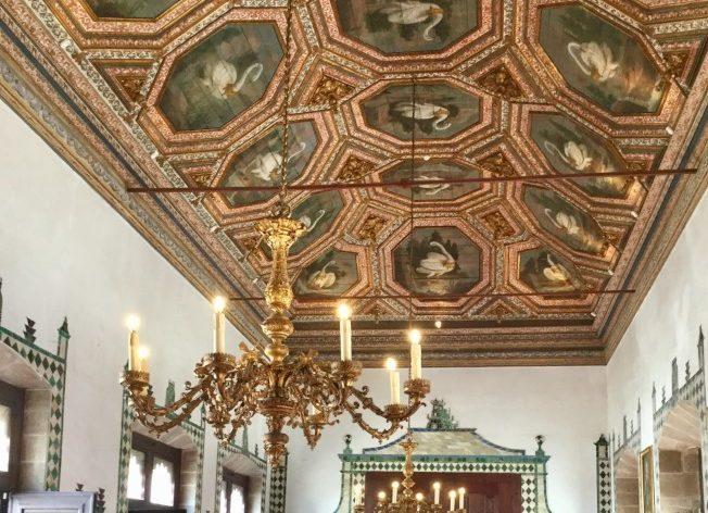 辛特拉-辛特拉王宮天鵝廳。