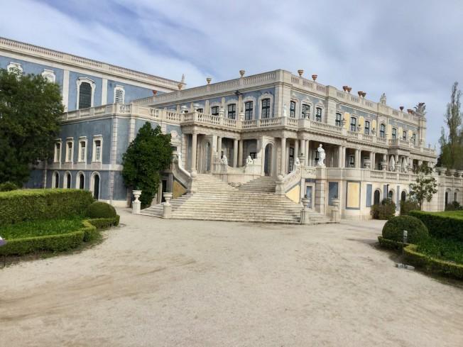 克魯茲國家宮一角。