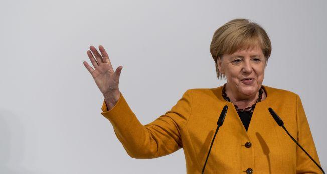 德國總理梅克爾。(Getty Images)