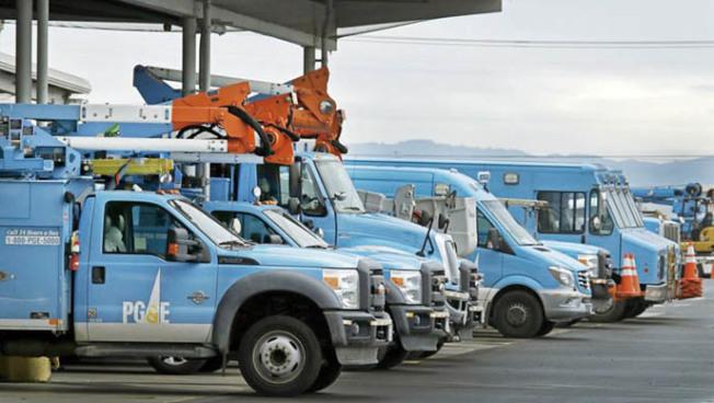 太平洋瓦電本周可能對北加及中谷多個縣實施斷電措施。(電視新聞截圖)