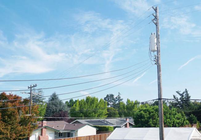 聖他克拉拉縣3萬8000戶受停電影響。(記者梁雨辰/攝影)
