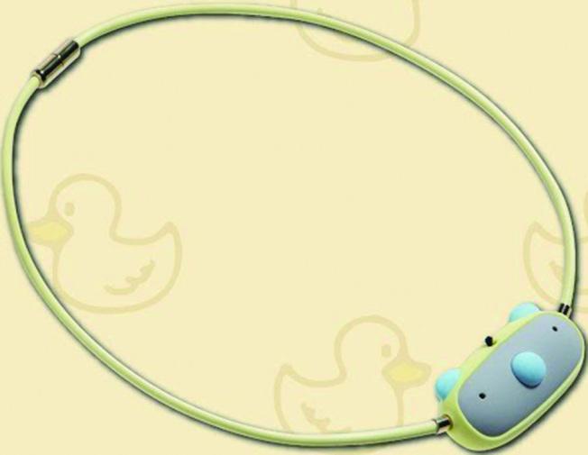 ible Airvida鈦項圈負離子空氣清淨機。(圖:全國電子提供)