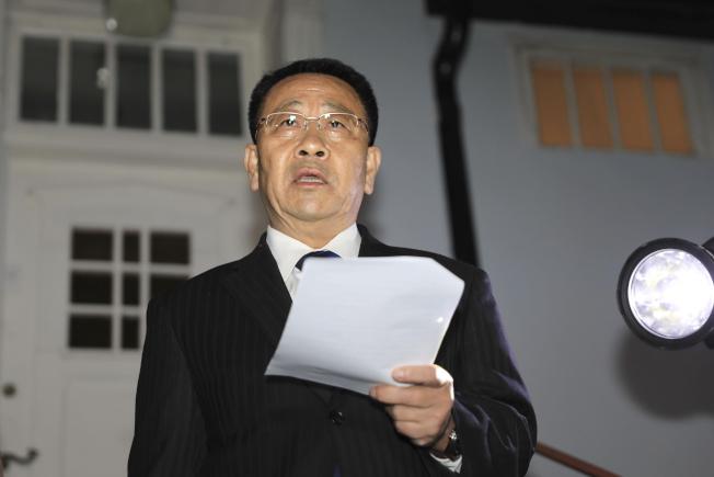 北韓首席談判代表金明吉5日與美方在瑞典的會談後宣布談判破局,但雙方說辭不同調。美聯社