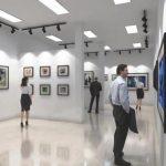 美國西部藝術學院畫廊落成首展殊途同歸畫展開幕