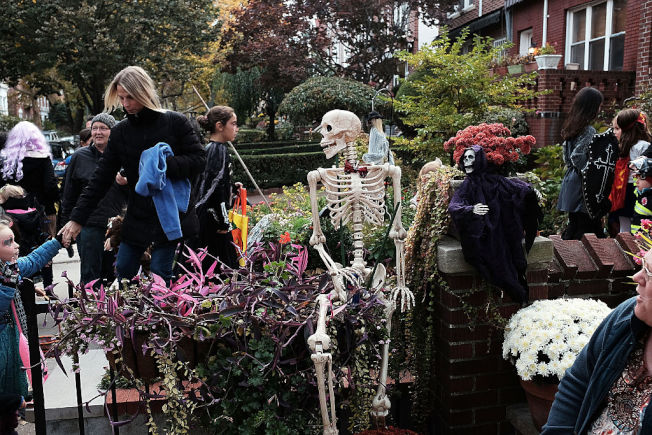 萬聖節是否要改到10月最後一個周六,正反意見都有。(Getty Images)
