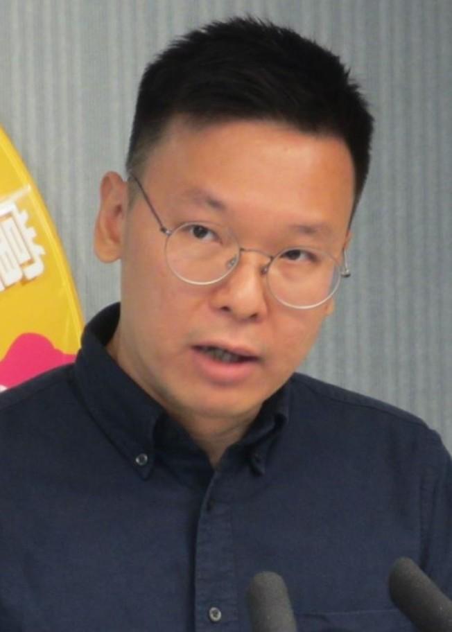 民進黨副秘書長林飛帆,是太陽花學運時的領袖人物(維基百科)