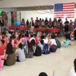 慶祝雙十國慶 波卡中校逾百師生同樂
