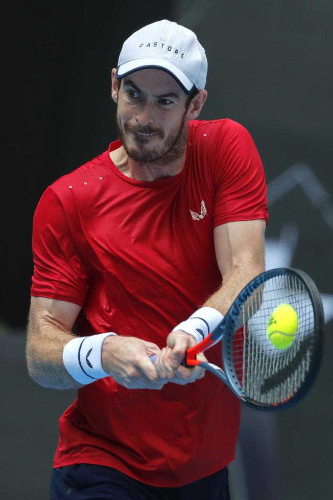 穆雷確定將參加明年初的澳網男單項目。(美聯社)