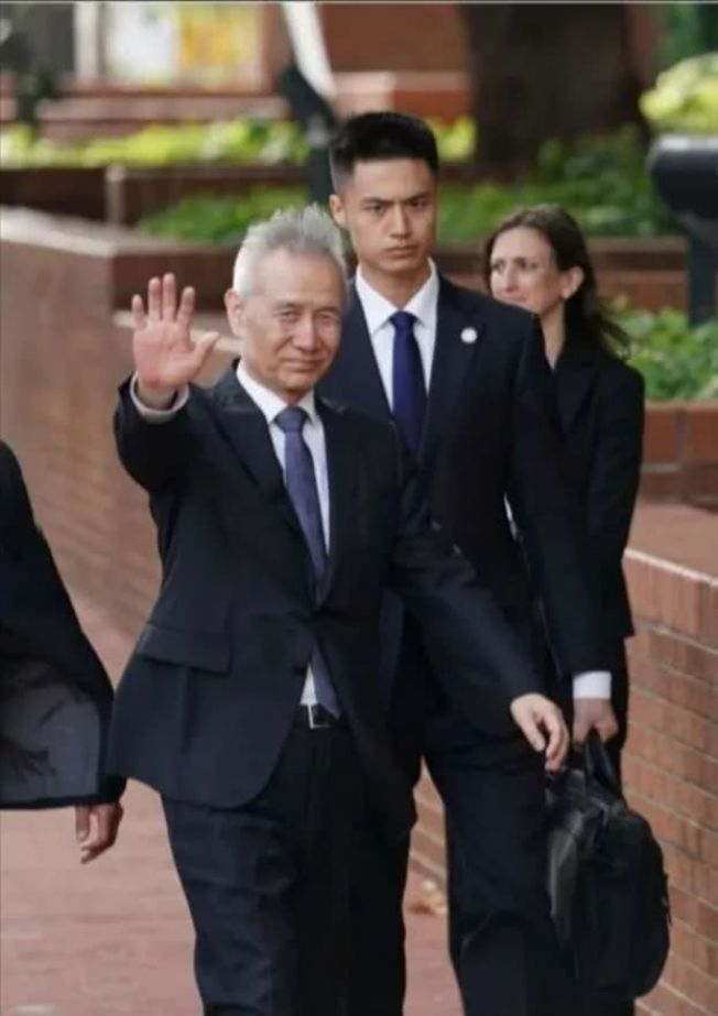 劉鶴抵美表示,中方此次抱著極大的誠意而來,願意與美方認真交流,推動磋商取得積極進展。(百度資料照)