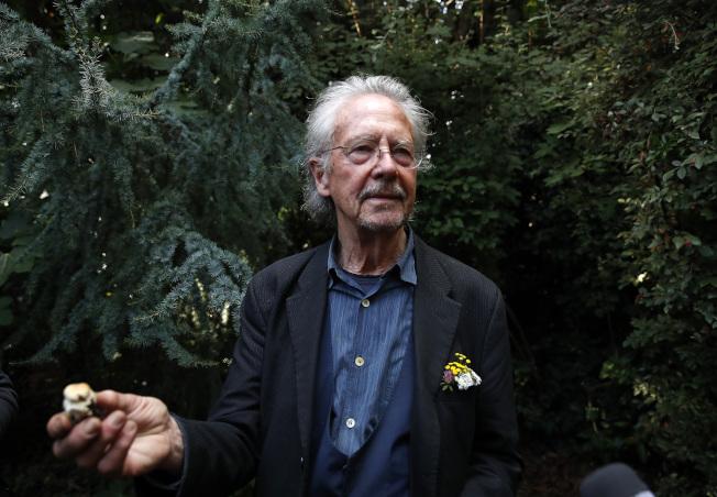 奧地利作家漢德克目前定居於法國巴黎近郊。美聯社