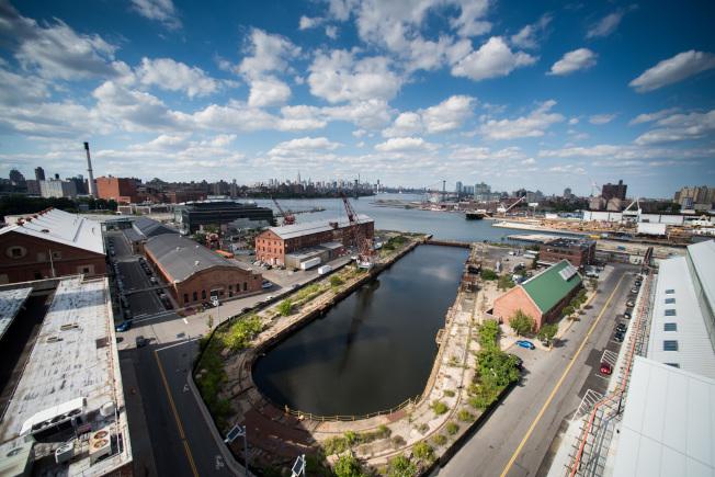 布魯克林造船廠。(Brooklyn Navy Yard Development Corporation提供)
