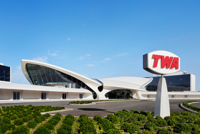 TWA飯店。(David Mitchell攝影)