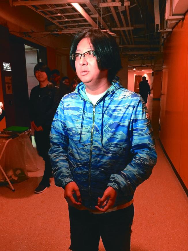 袁惟仁去年10月在上海不慎跌倒、引發腦溢血昏迷。(本報資料照片)