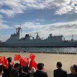 中國驅逐艦抵日本參加國際閱艦 雙方關係升溫
