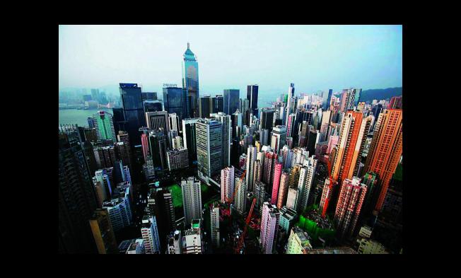 香港高樓大廈林立。(本報資料照片)