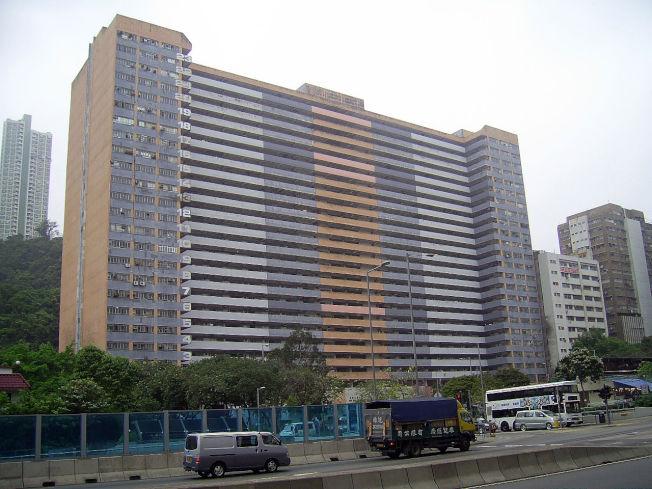 沙田火炭穗輝工廠大廈。(取材自香港房屋委員會)