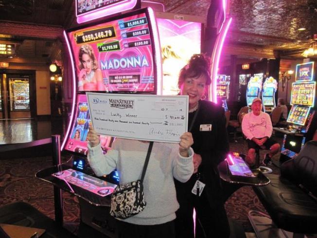 夏威夷婦人在賭城拉中大獎,但堅持匿名不露真面目。(博德賭業提供)