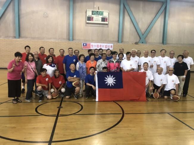 慶雙十國慶國慶盃籃球賽旨在「以球會友」。(記者蕭永群/攝影)