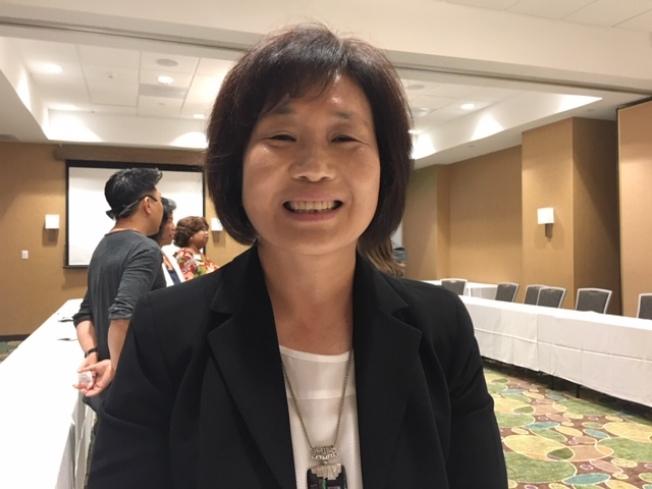 2020全國人口普查洛杉磯地區亞裔專員林女士表示,參加人口普查是居民應盡的義務和責任。(記者楊青╱攝影)