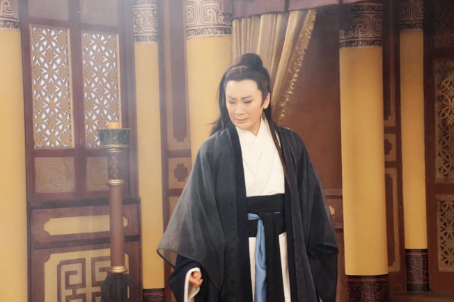 陳亞蘭在「忠孝節義」戲中魂魄回歸,讓媽媽粉絲也哭慘。(圖:麗生百合提供)