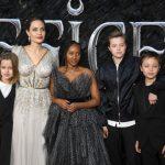 裘莉宣傳「黑魔女」 4子女出席 1家超吸睛