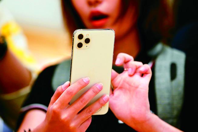 蘋果新機iPhone 11出現諸多使用狀況。(路透)