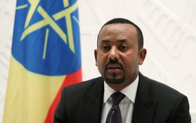 衣索比亞總理阿邁德獲頒諾貝爾和平獎。(路透)