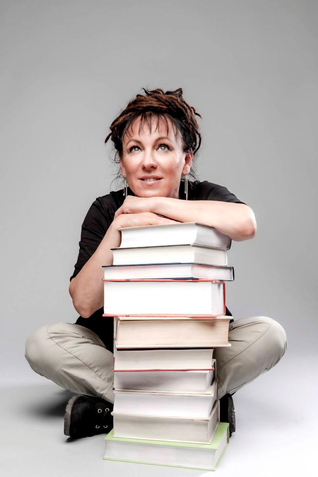 波蘭女作家奧爾嘉.朵卡萩獲得2018年諾貝爾文學獎,這是她2014年在華沙的留影。(路透)