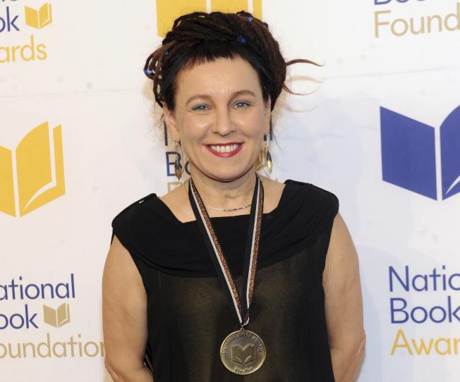 波蘭作家奧爾嘉.朵卡萩獲得2018年諾貝爾文學獎桂冠。(美聯社)