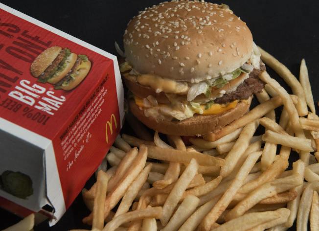 薯條屬於極度加工食品。(Getty Images)