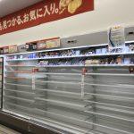 61年來最強颱風來襲 日本民眾搶購民生物品