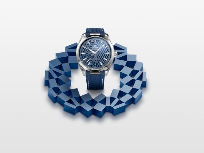 歐米茄奧運系列海馬Aqua Terra「東京2020」限量版腕錶。