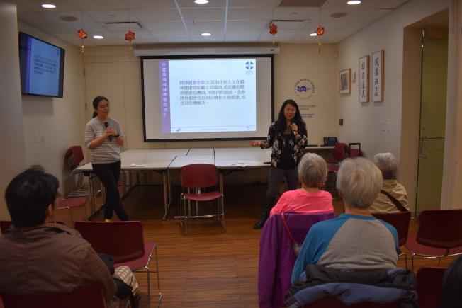 心理健康聯盟舉辦「心理健康急救!你做得到!」講座。(記者顏嘉瑩/攝影)