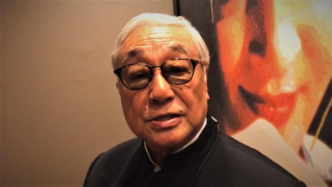 香港資深男演員曾江為第九季亞洲躍動影展「終身成就獎」得主。(特派員黃惠玲/攝影)