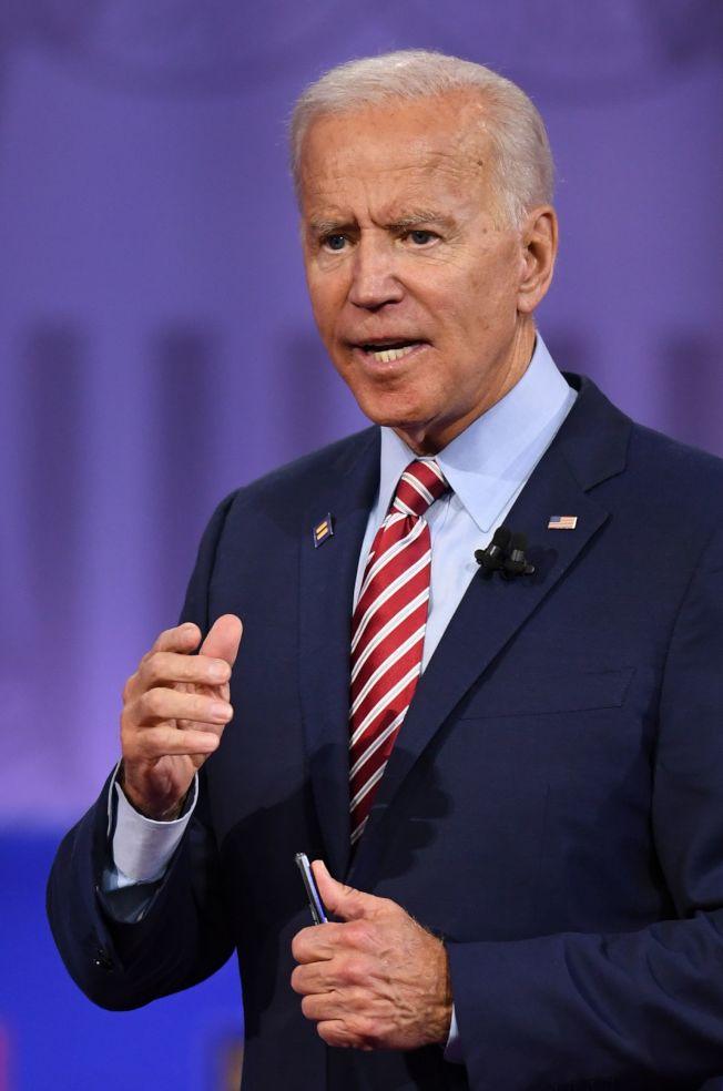歐巴馬主政時的副總統白登,是川普攻擊的主要對象。(Getty Images)
